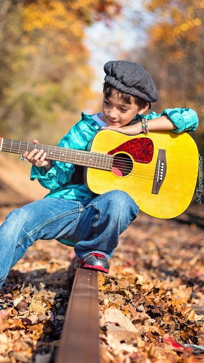 Chłopiec z gitarą byłby dla mnie parą