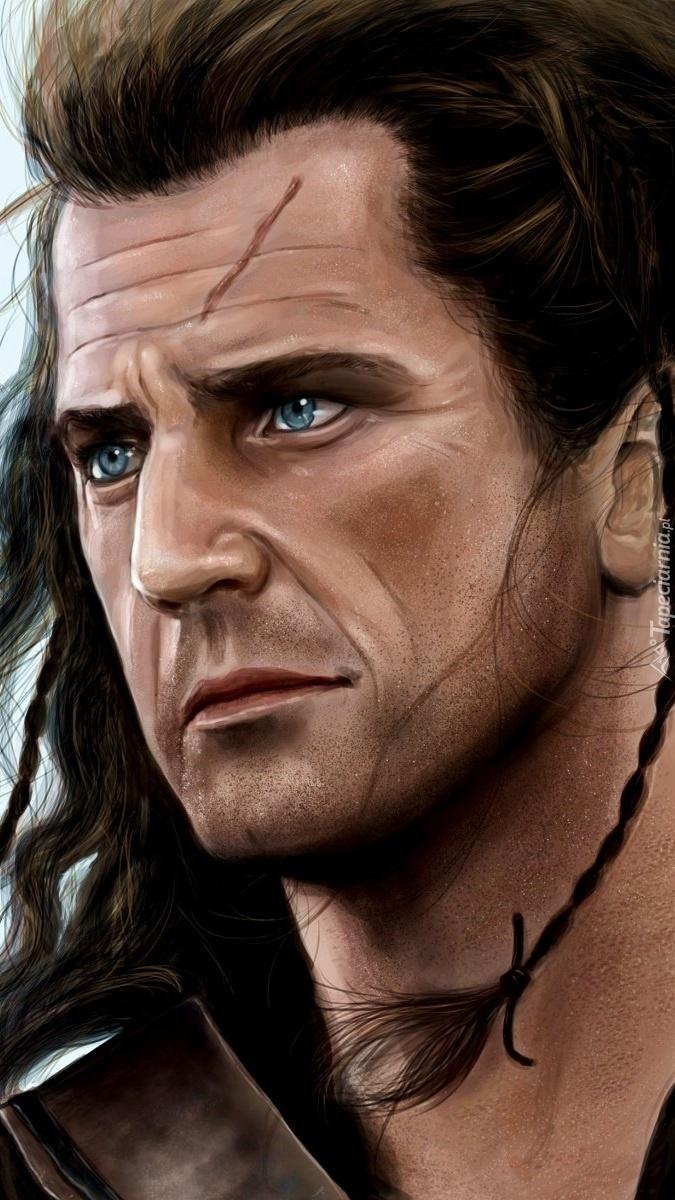 Mel Gibson w filmie Braveheart