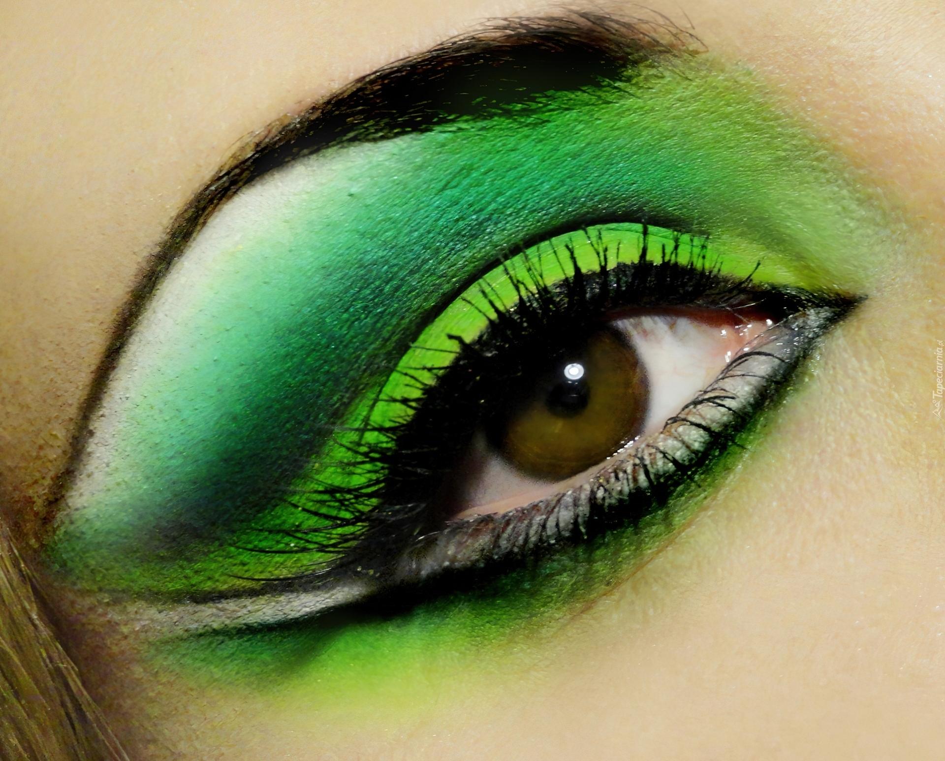 Красивые макияжи для зеленых глаз фото