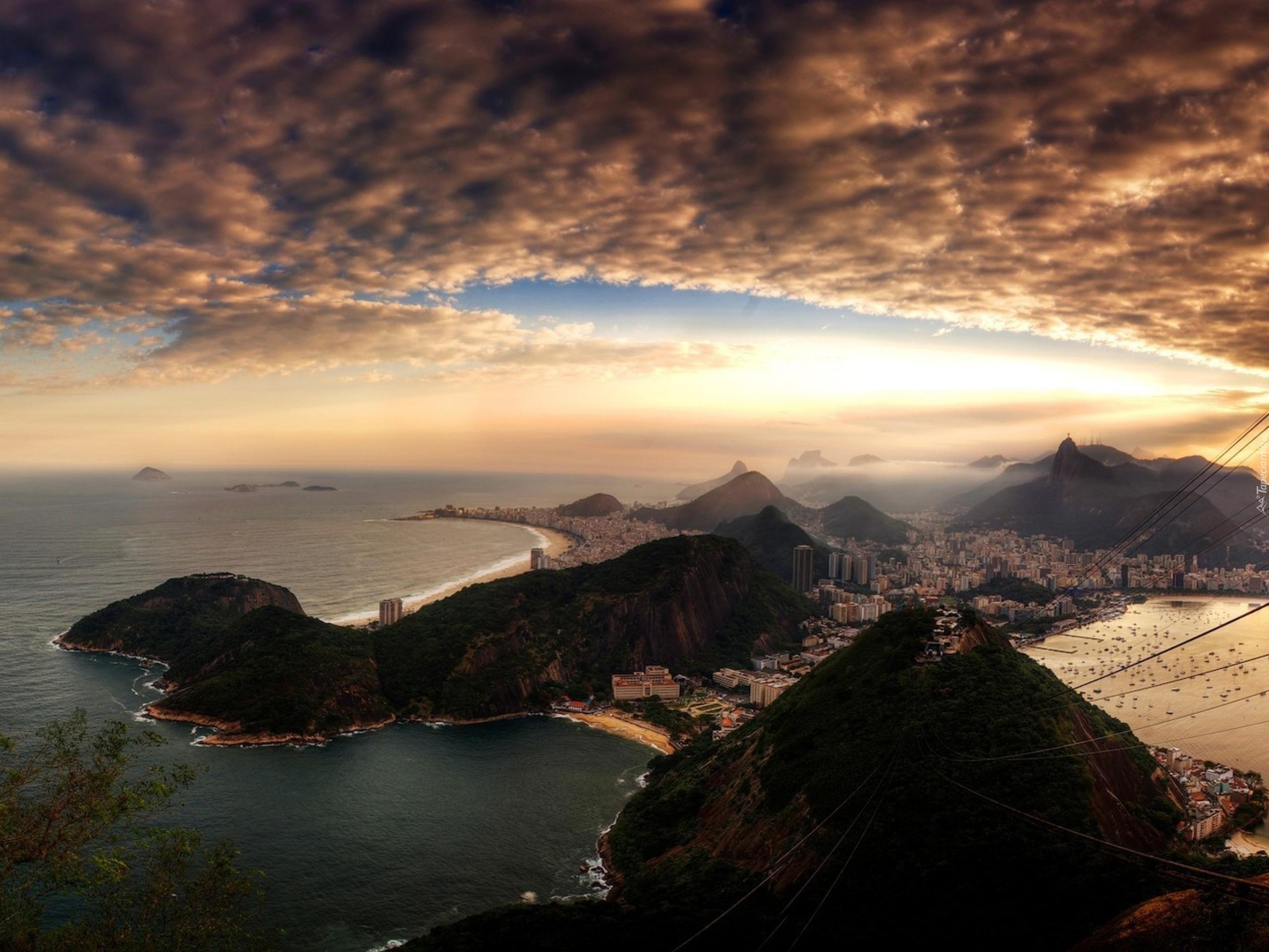 Рио-де-Жанейро перед рассветом  № 1457561 бесплатно