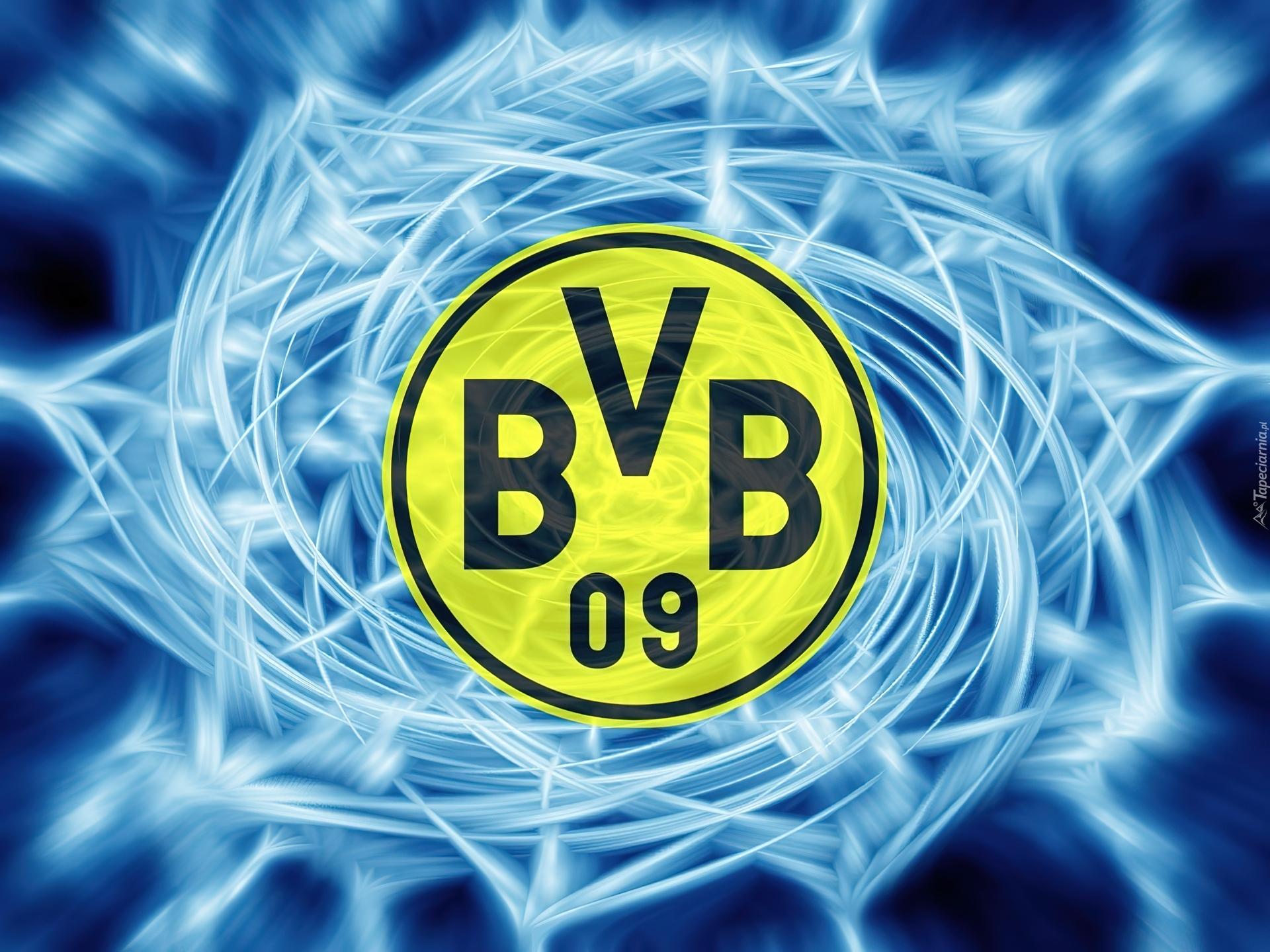 Logo, niemiecki, klub, borussia dortmund