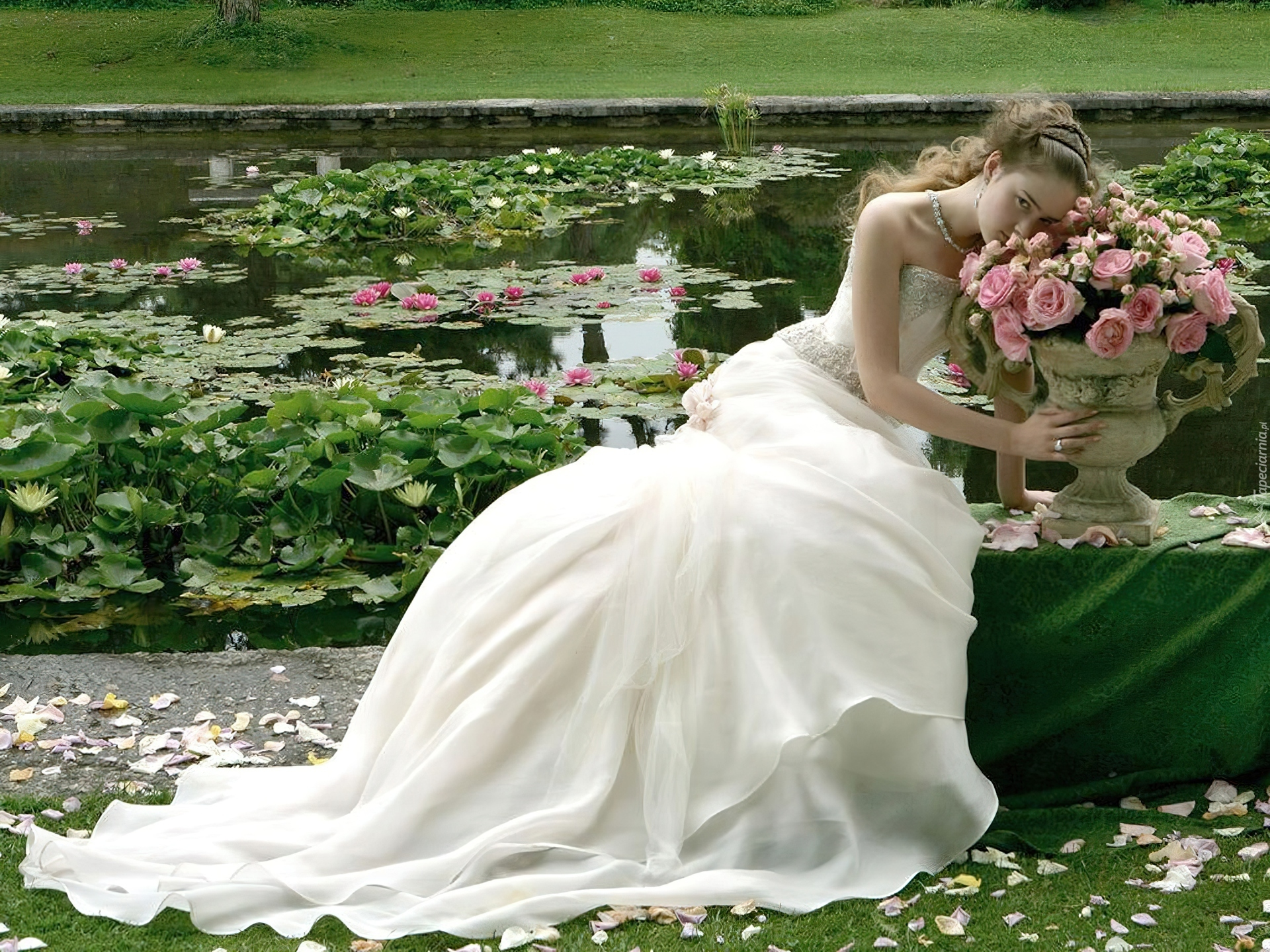 http://www.tapeciarnia.pl/tapety/normalne/152204_panna_mloda_roze_staw_lilie_wodne.jpg