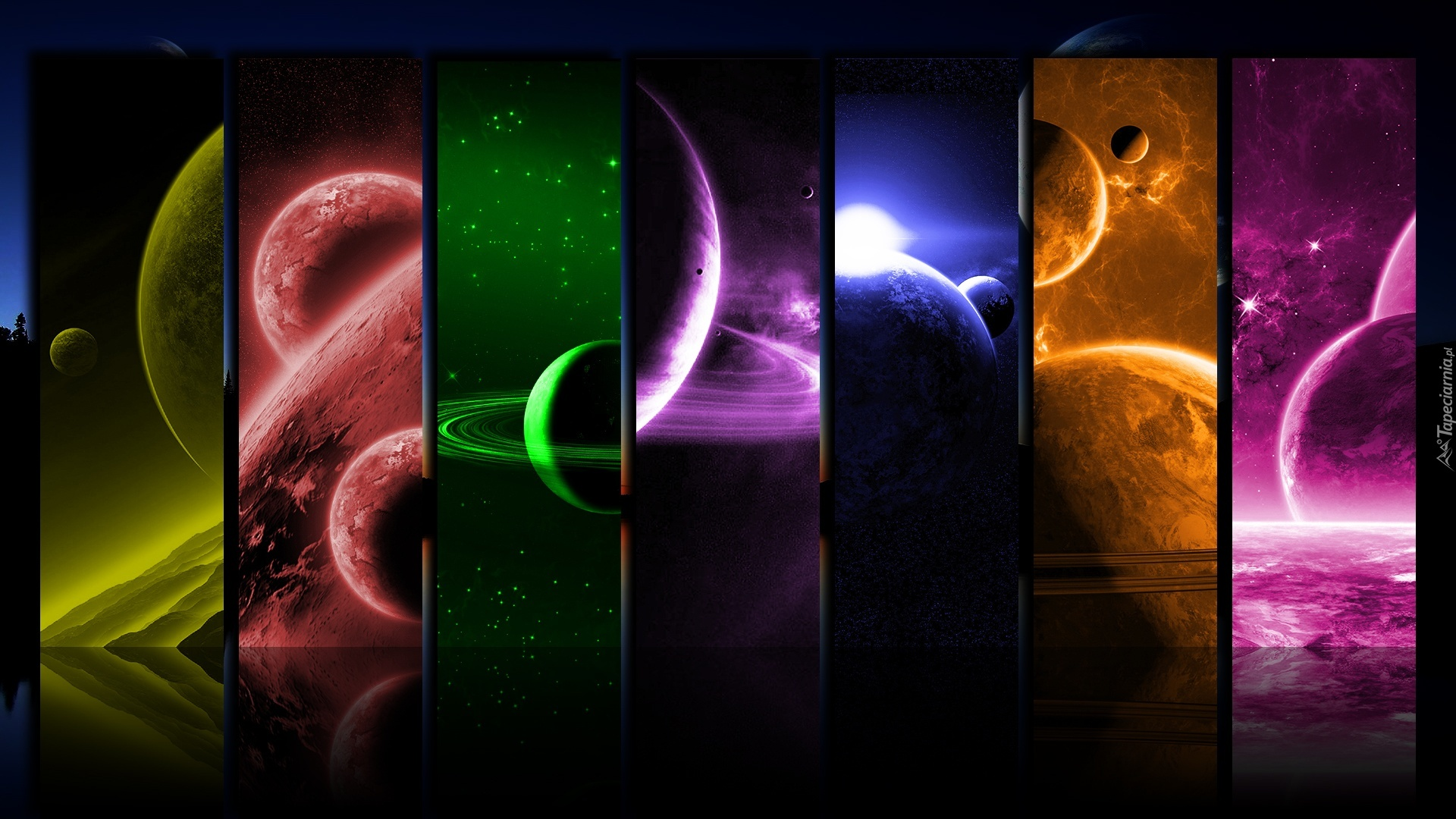 planets 3d windows background - photo #33