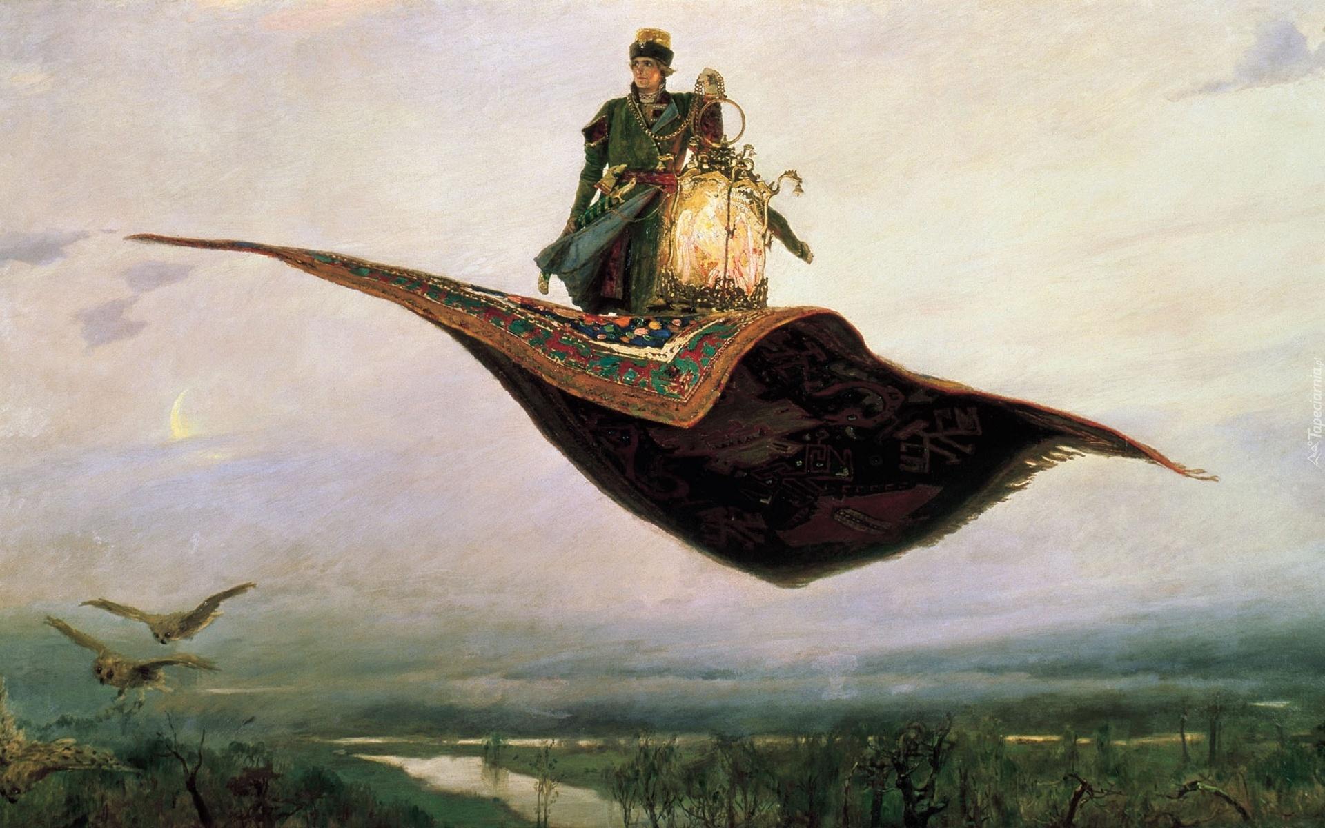 Сказки - Наука о литературе (Вып. 12) 163400_obraz_reprodukcja_latajacy_dywan_mezczyzna
