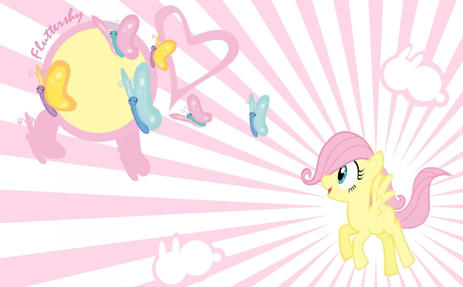 My Little Pony Przyja     To Magia  Fluttershy