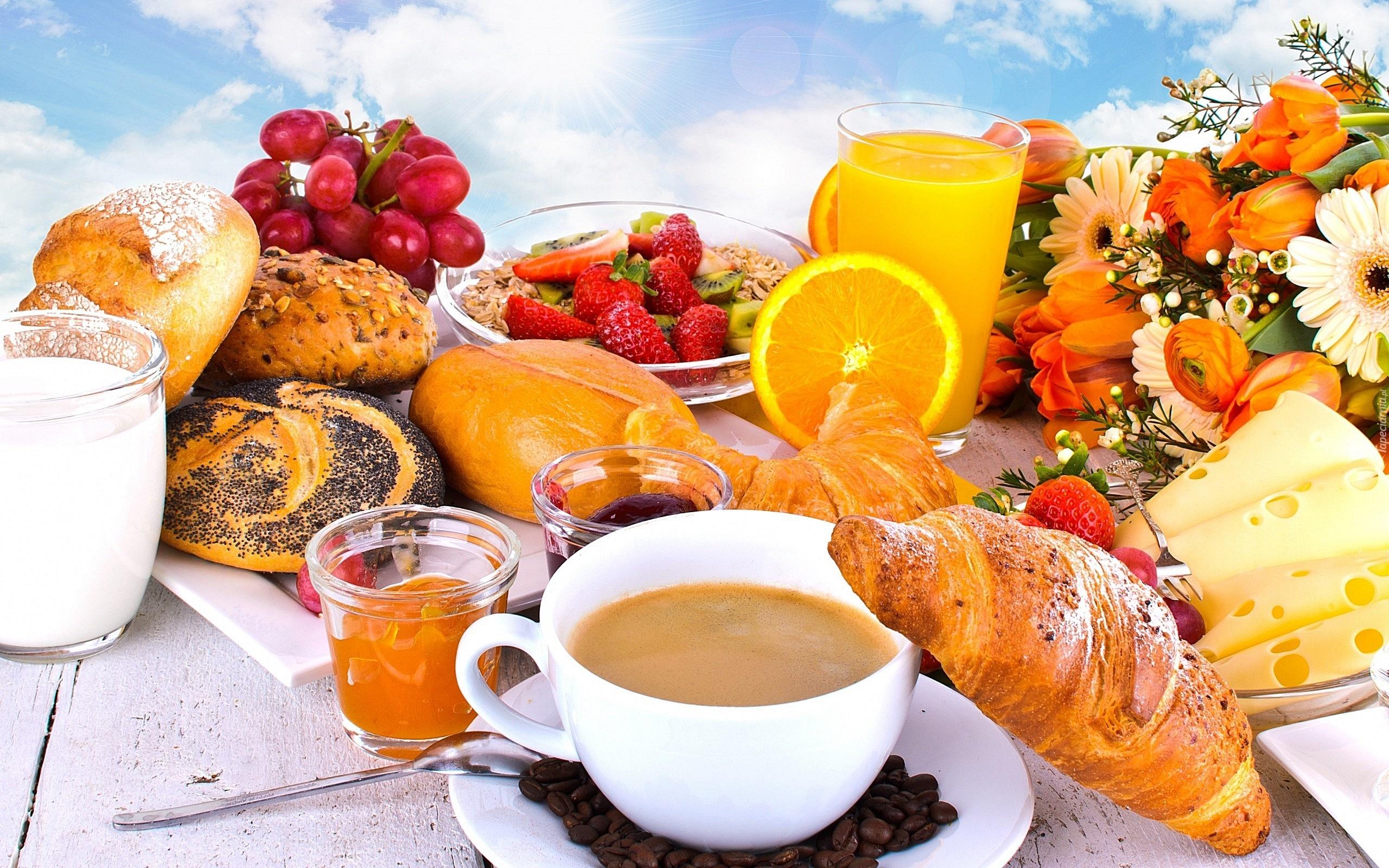 Znalezione obrazy dla zapytania witam śniadankiem