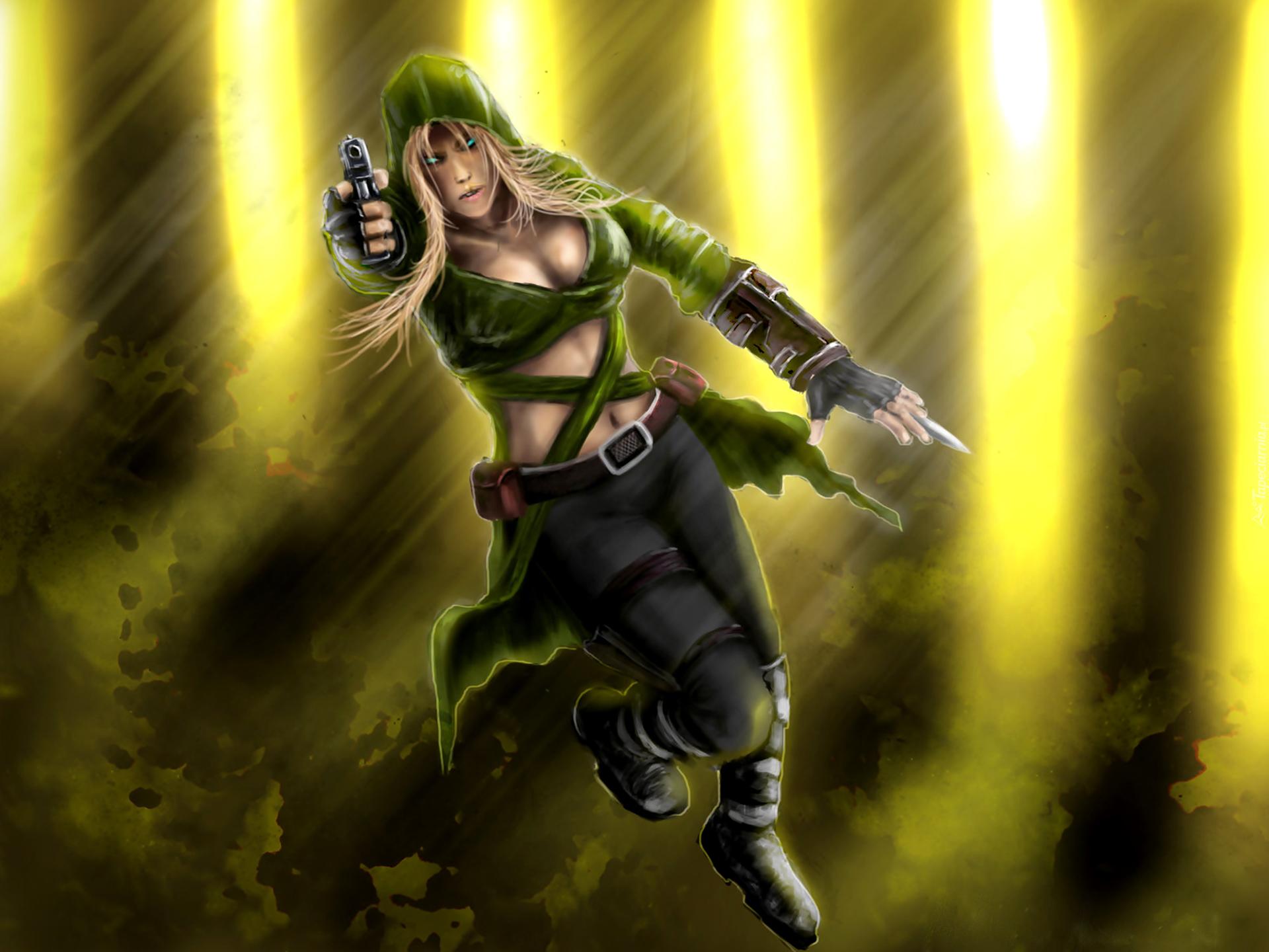 Mortal Kombat, Sonya Blade - 1073.2KB