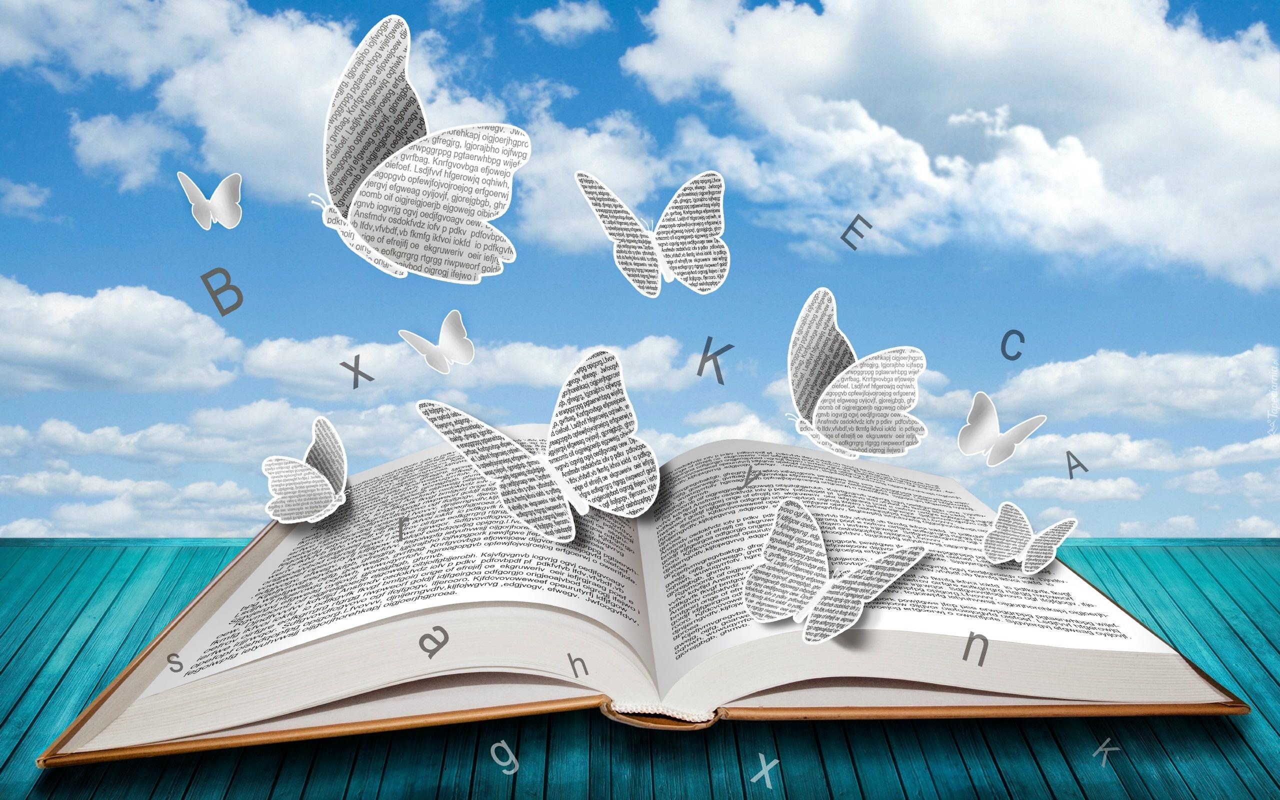 Znalezione obrazy dla zapytania książki tapety