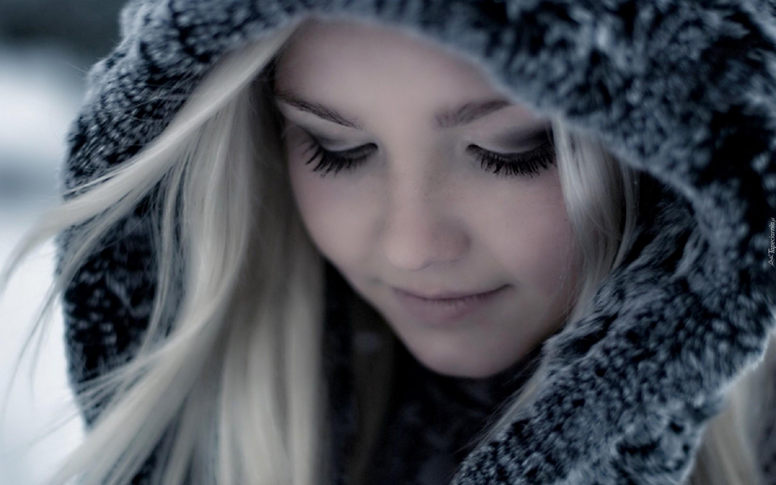 Фотографії блондинок і зима 6 фотография