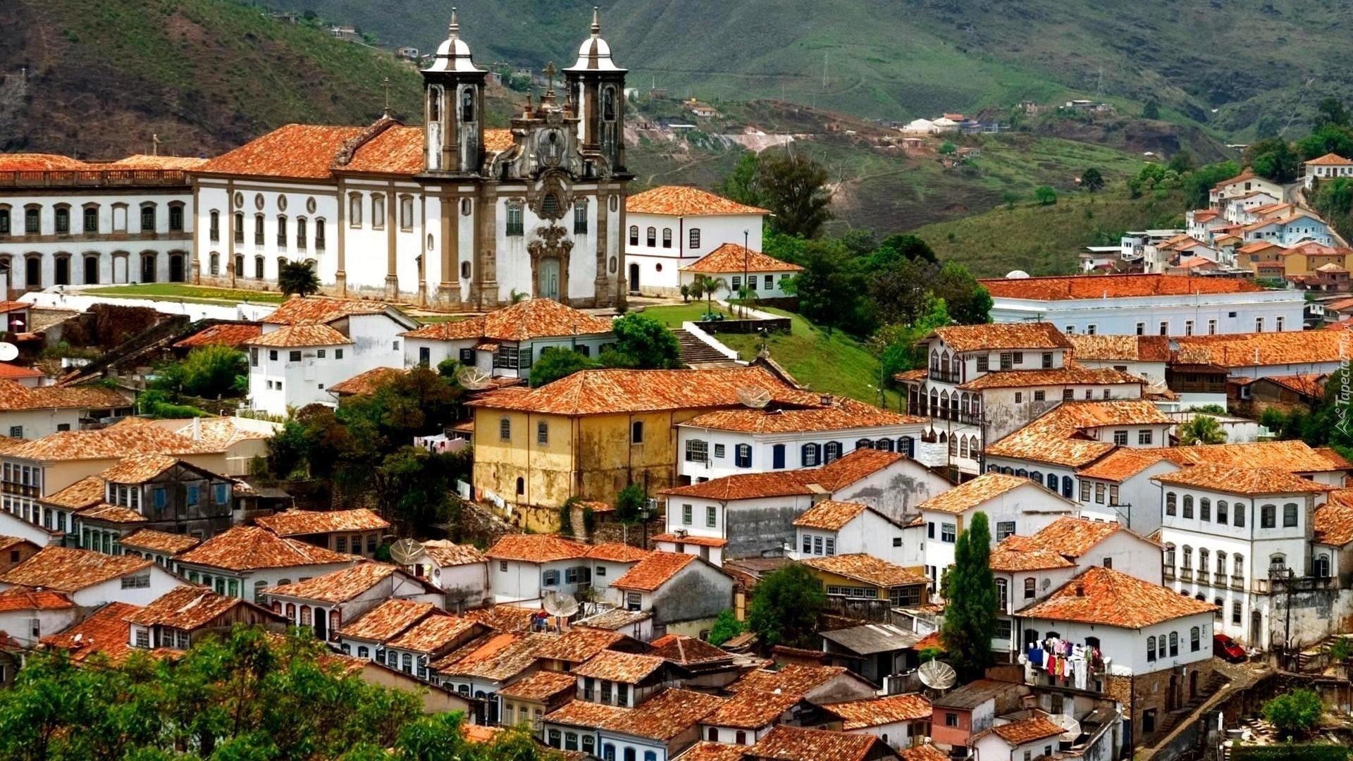 Brazylia Ouro Preto Domy Ko U015bci U00f3 U0142