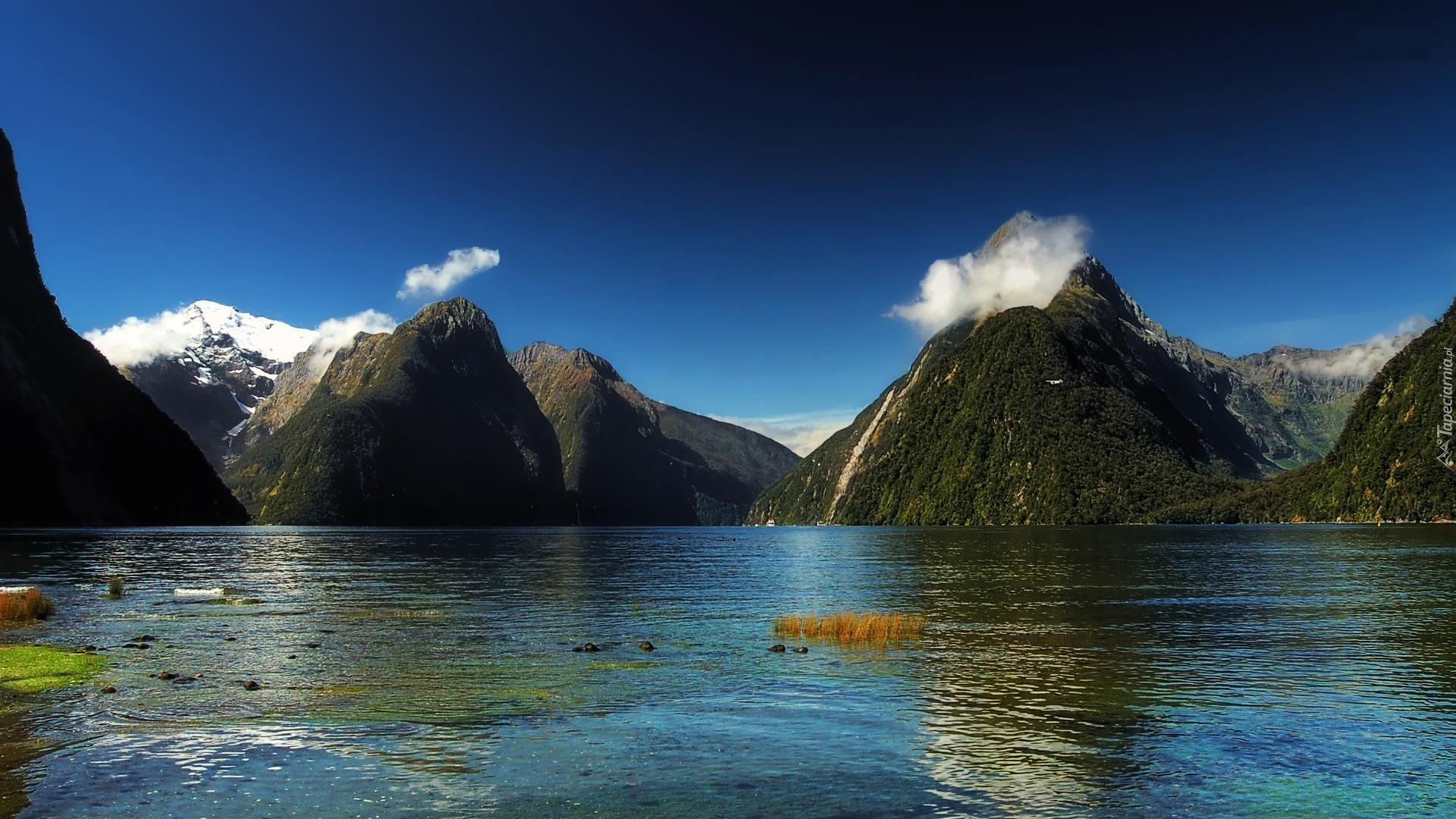 Zamach Nowa Zelandia Picture: Góry, Morze, Nowa Zelandia