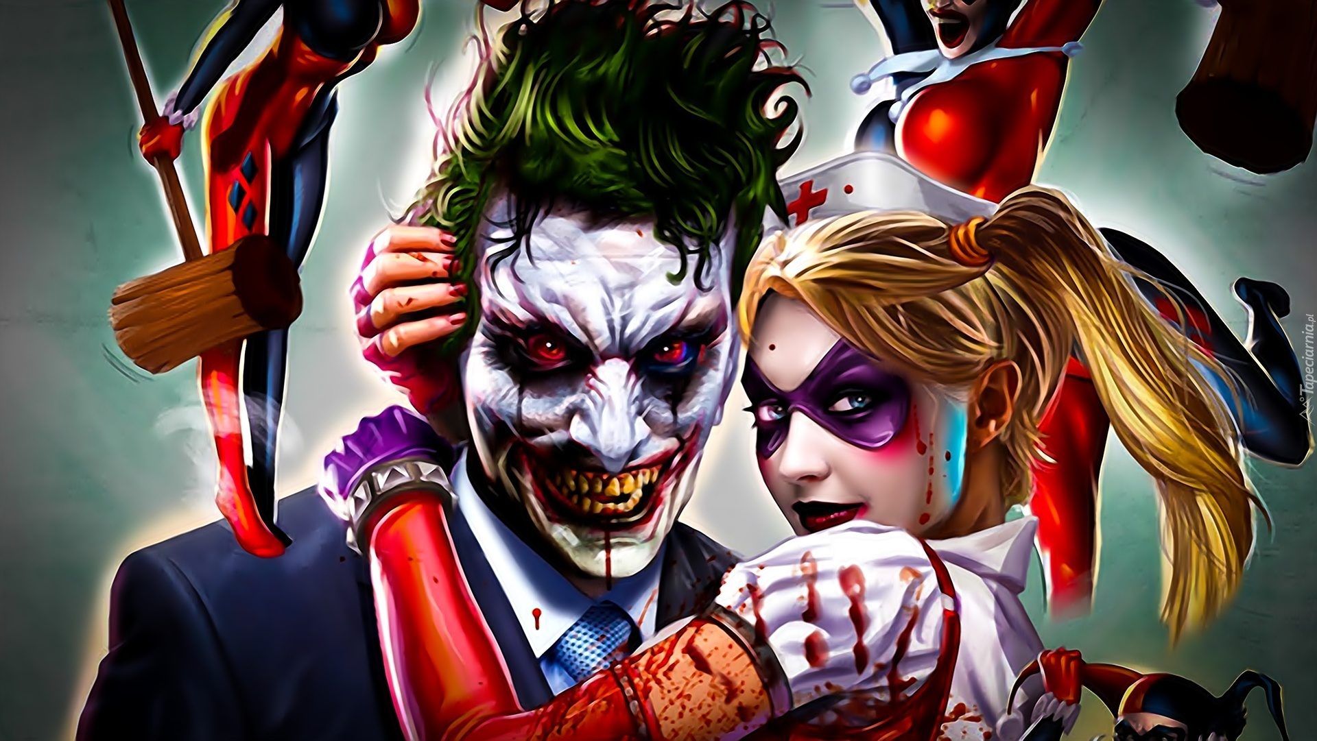 Tapety joker and harley quinn for Joker immagini hd