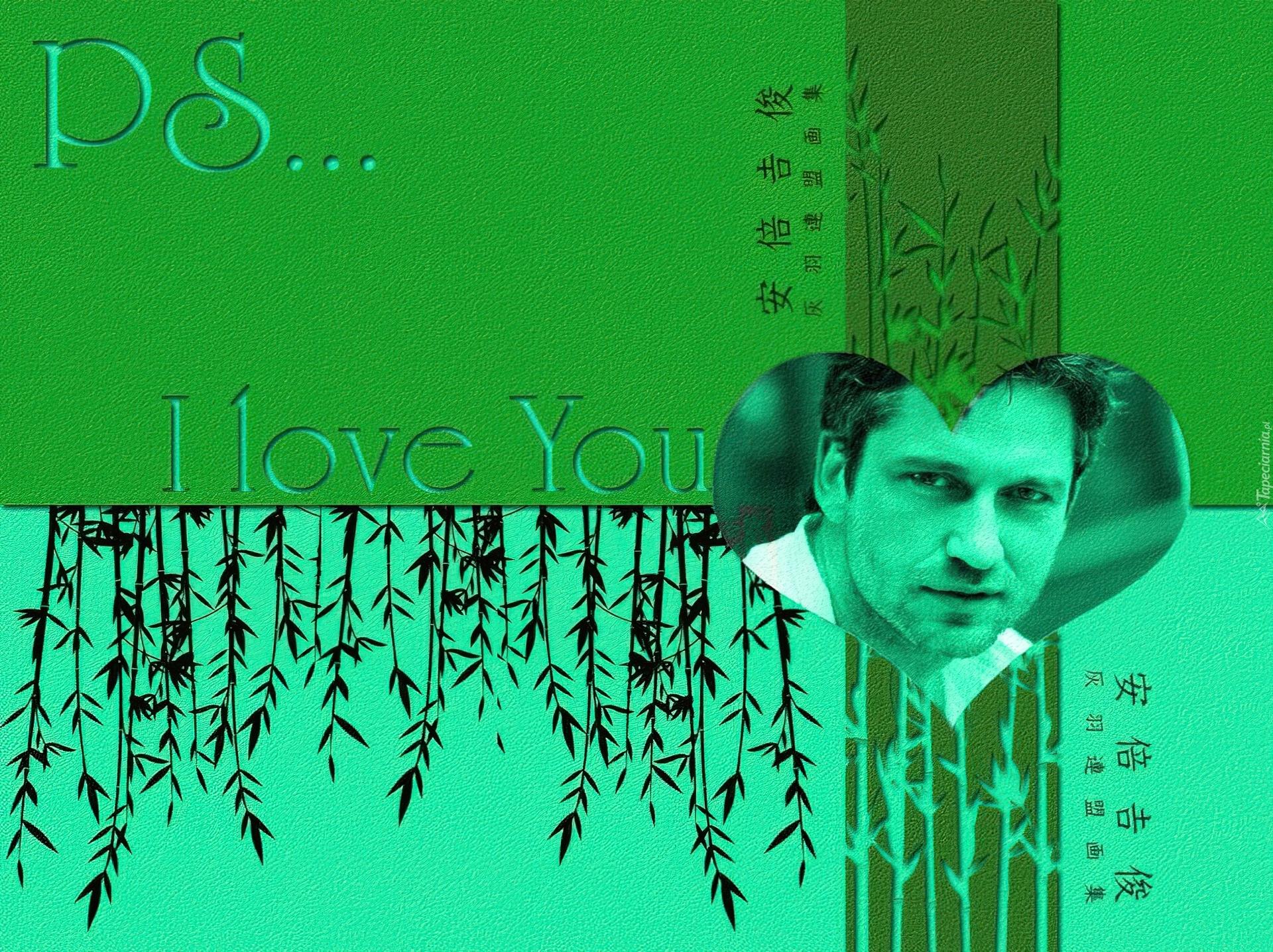 Gerard Butler, i love you, twarz Gerard Butler Pa
