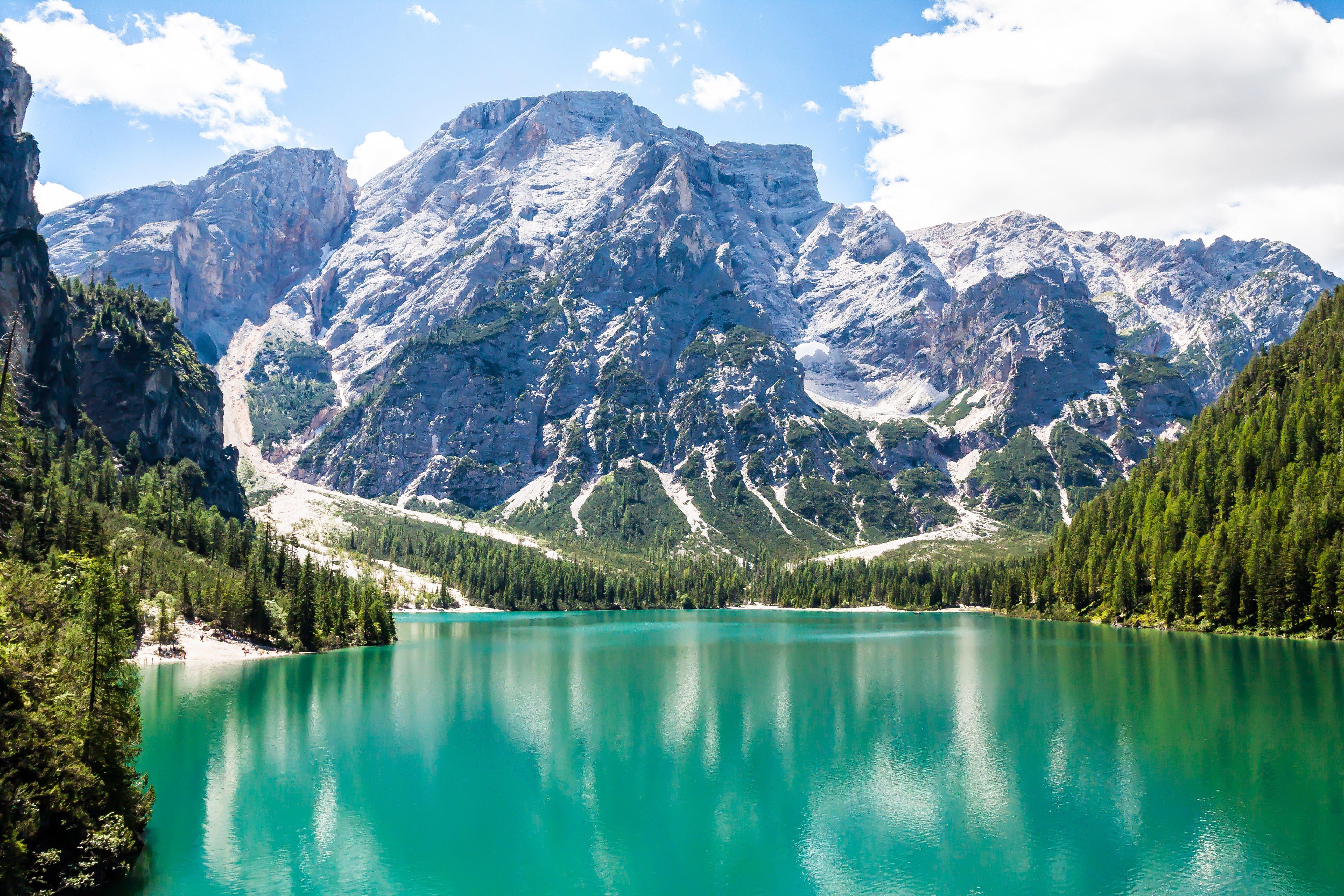 альпы фото озера