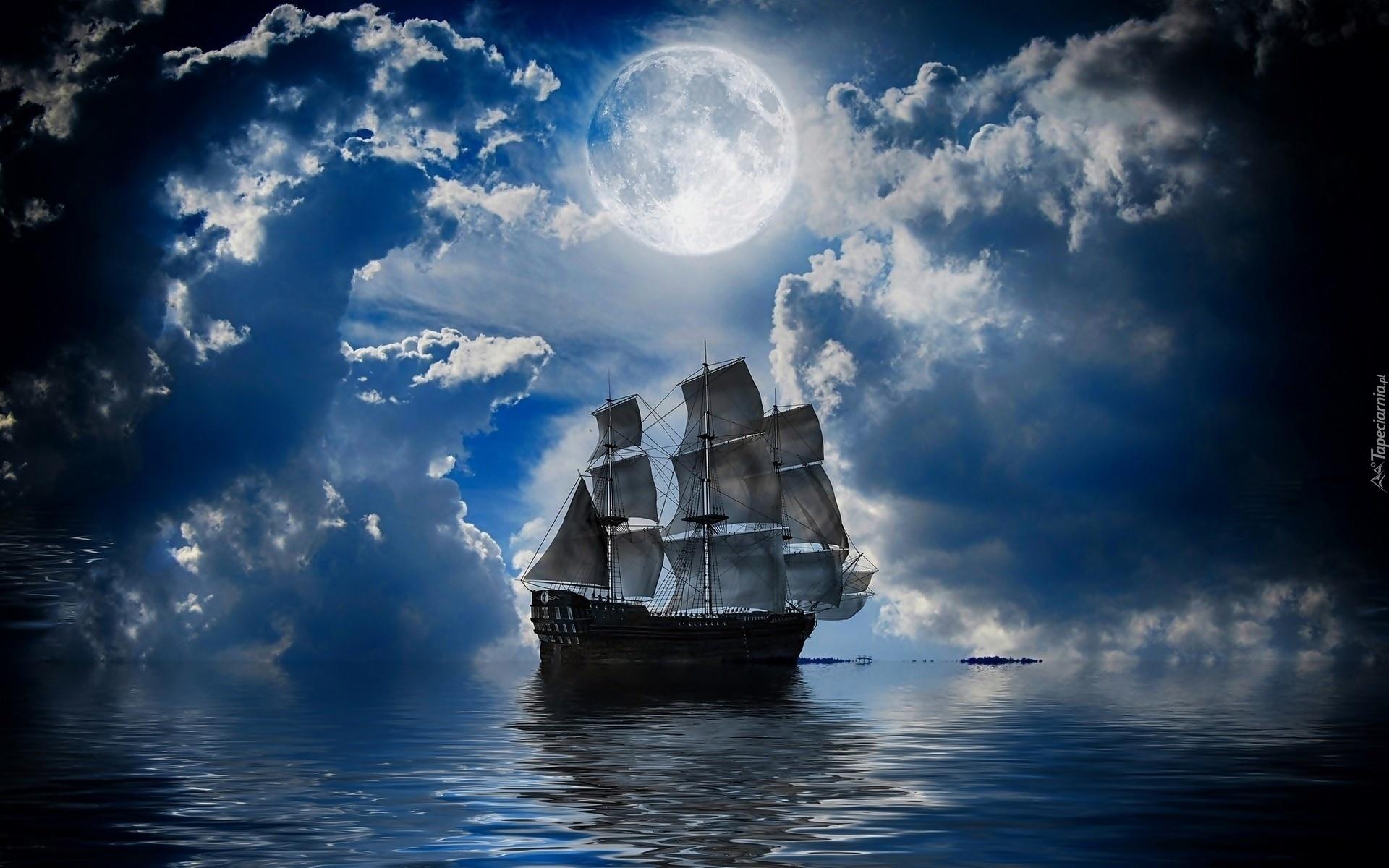 Луна море картинки