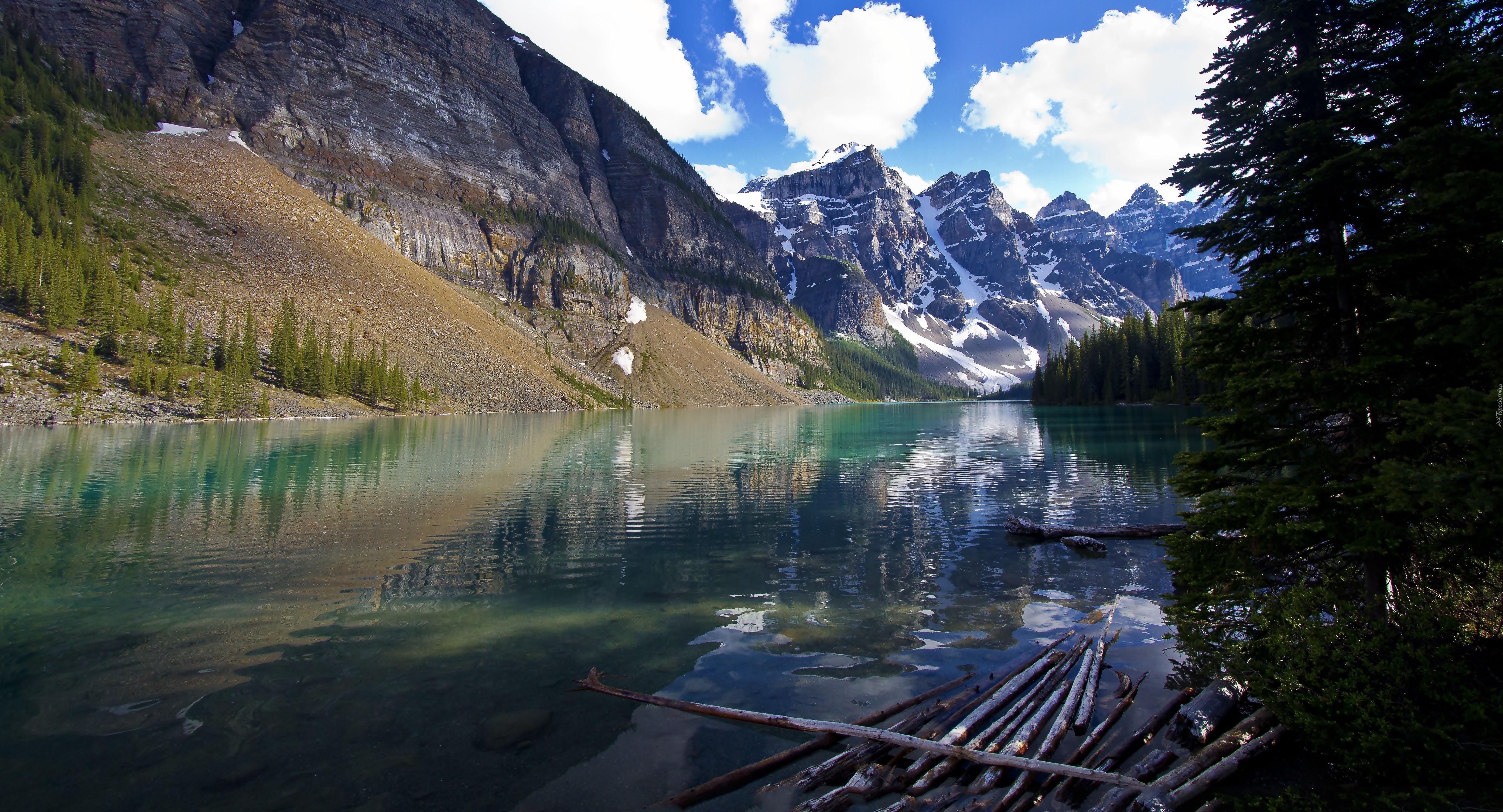 Victoria Glacier, Lake Louise, Banff National Park, Alberta, Canada  № 193124 без смс