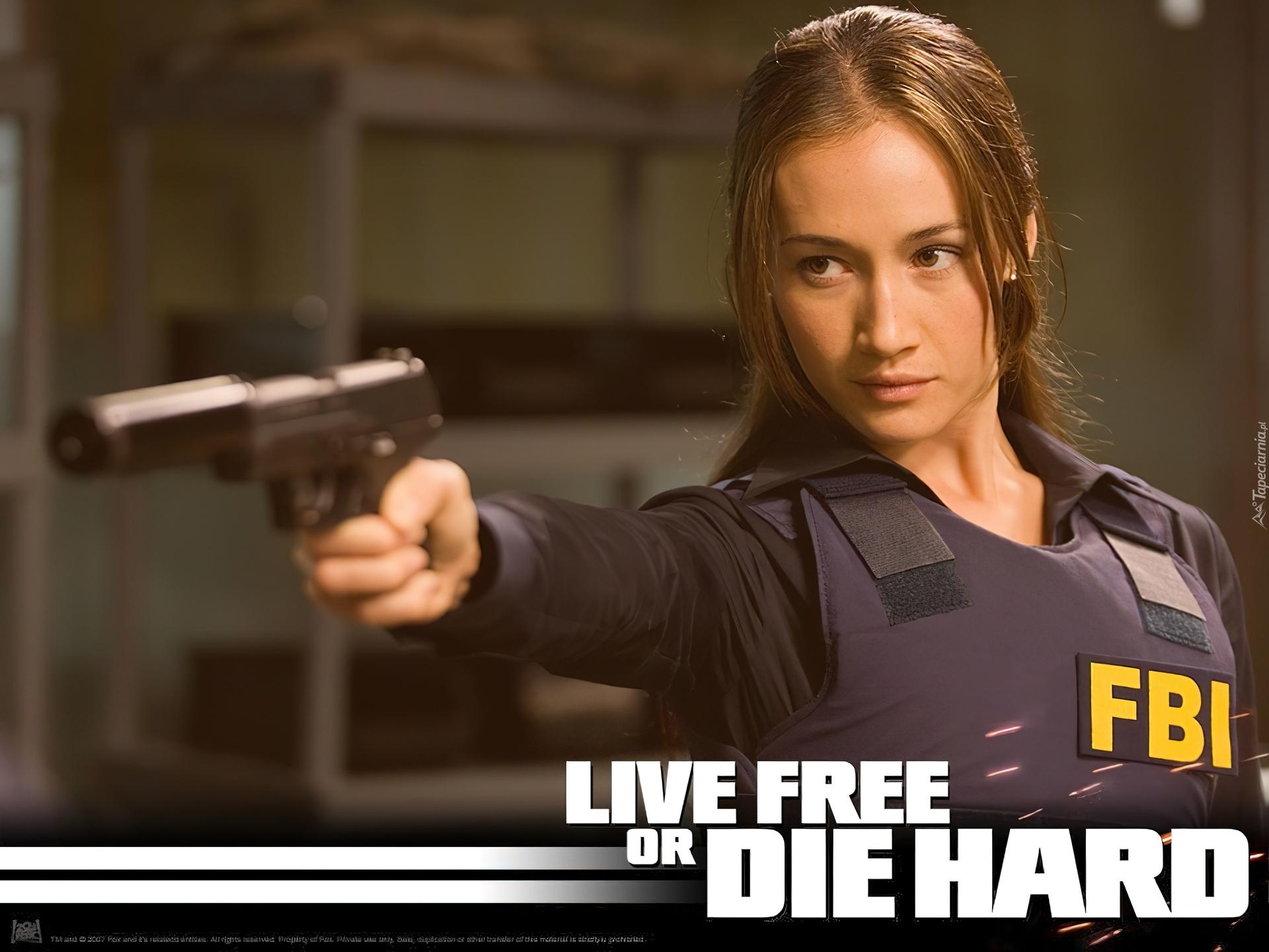 live free or die hard maggie q