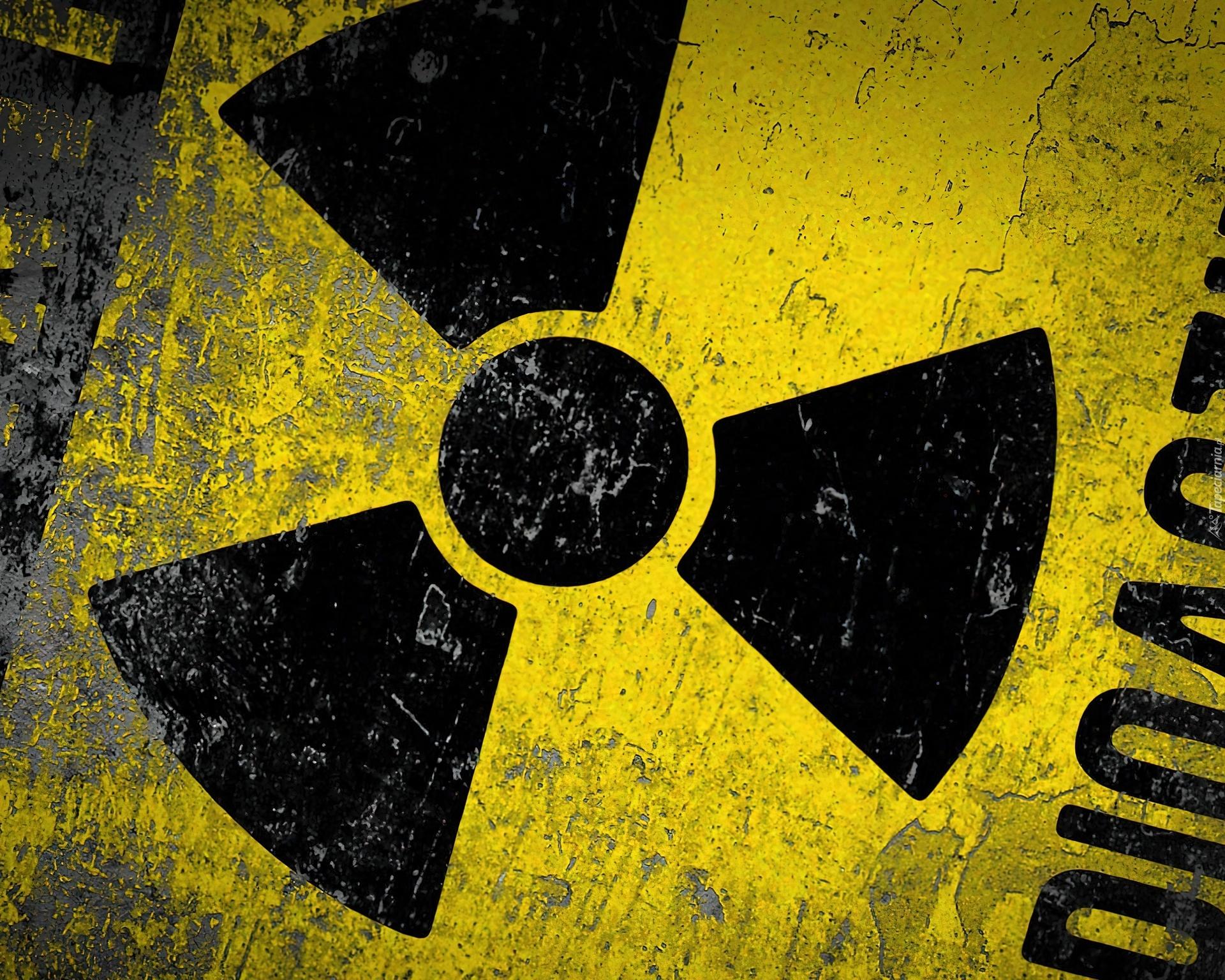 Radioaktywna, tapeta