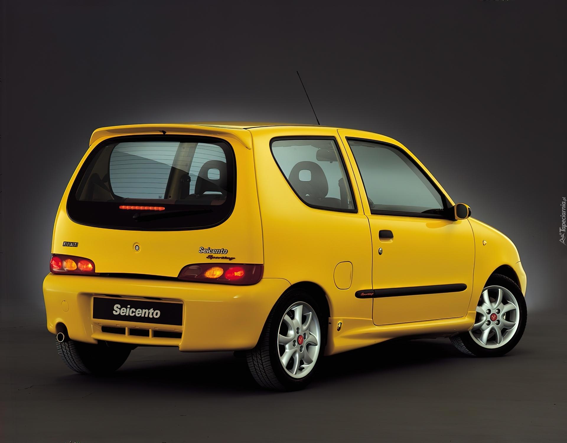 Fiat Seicento, Sporting