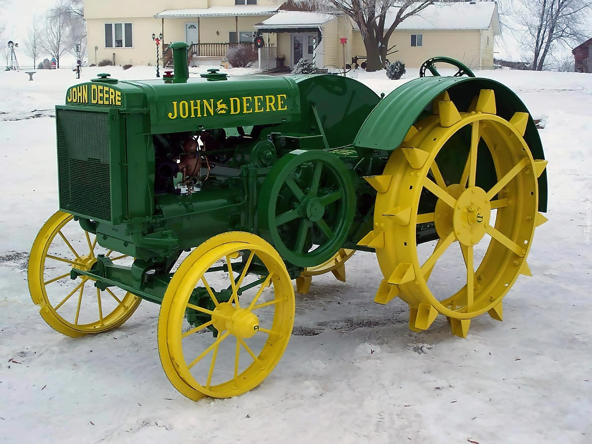 Poker tractor
