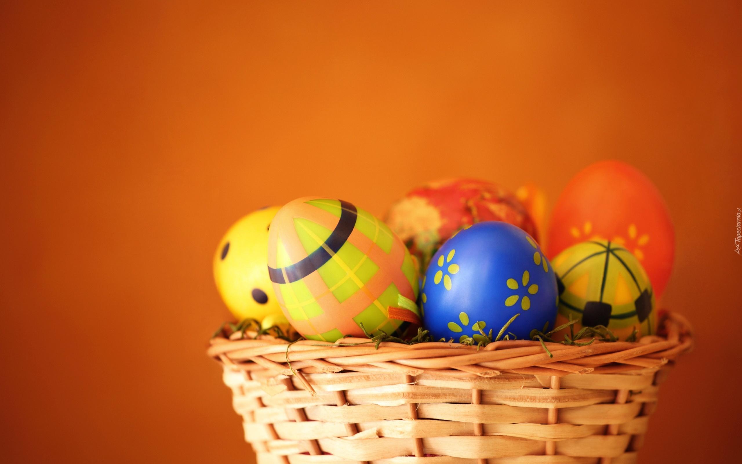 Koszyk, Pisanki, Wielkanoc