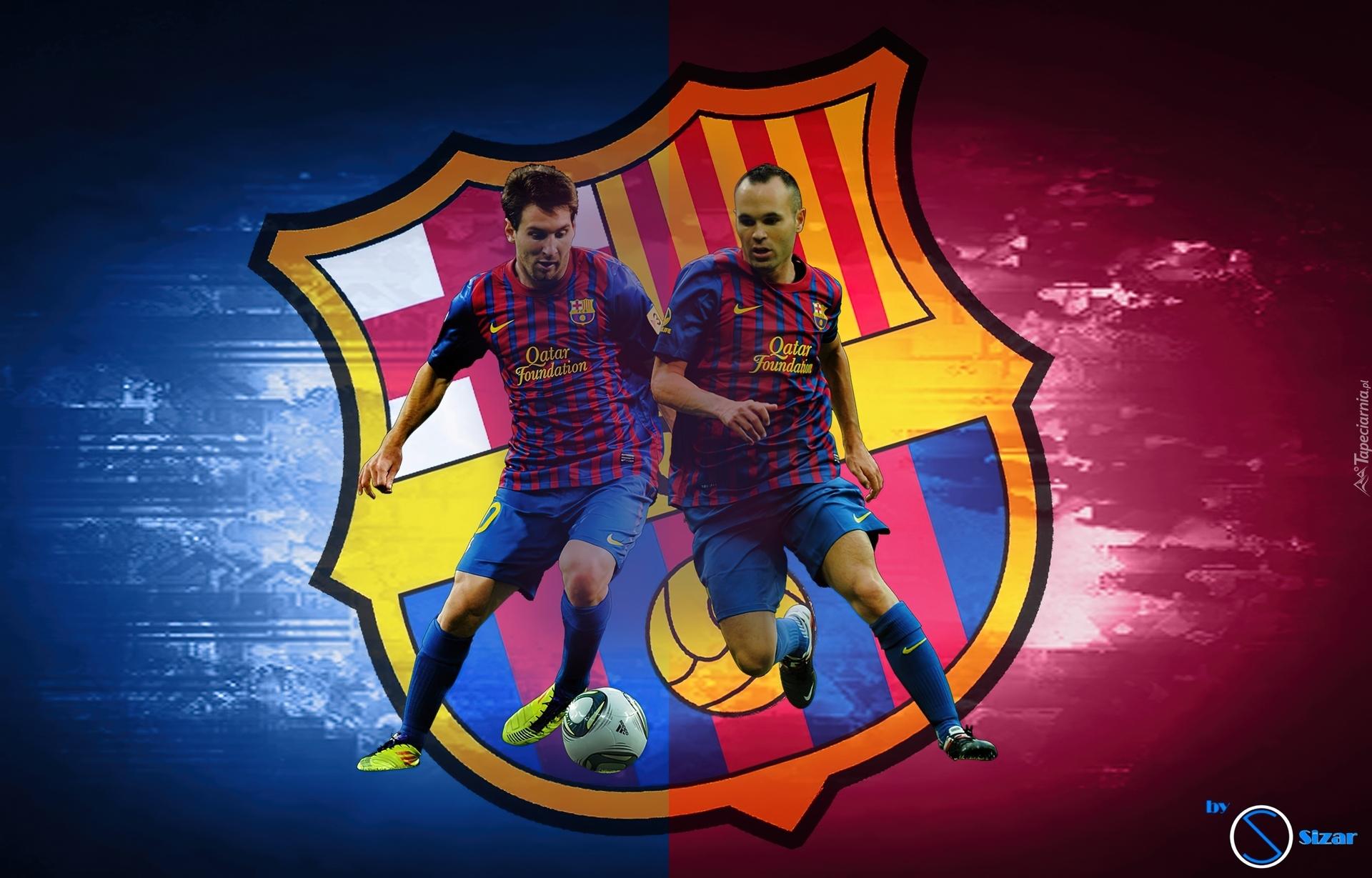 FC Barcelona  Andres Iniesta  Lionel Messi