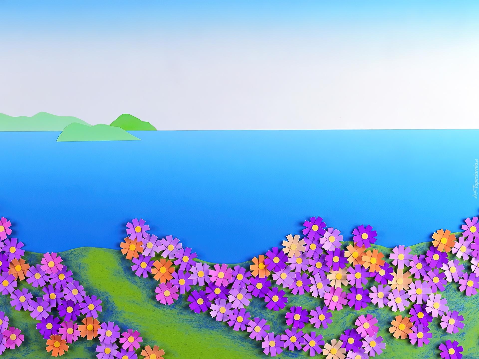 Поделки из бумаги на тему цветы