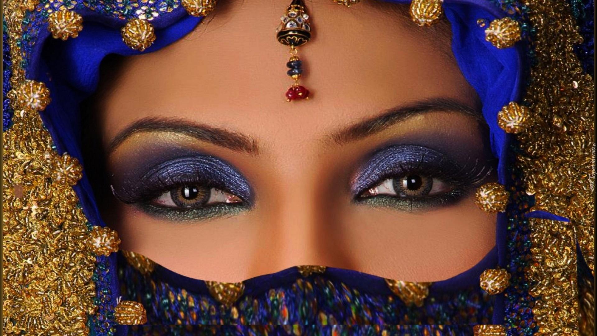 Красивые глаза восточных девушки фото