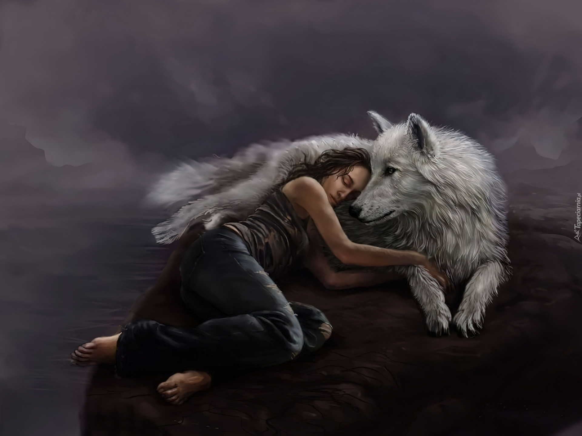Human's and wolves