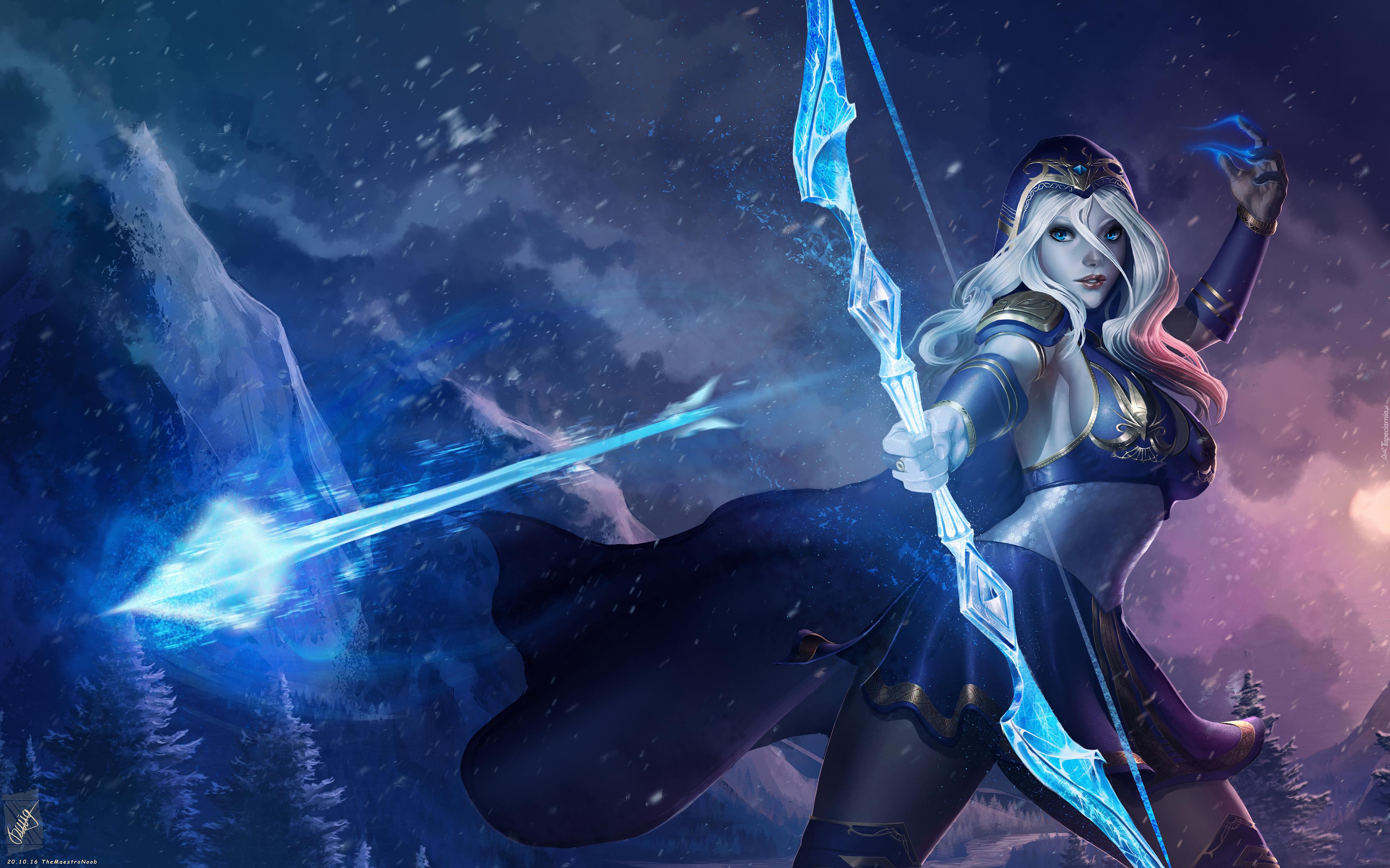 Lux London >> Ashe z League Of Legends