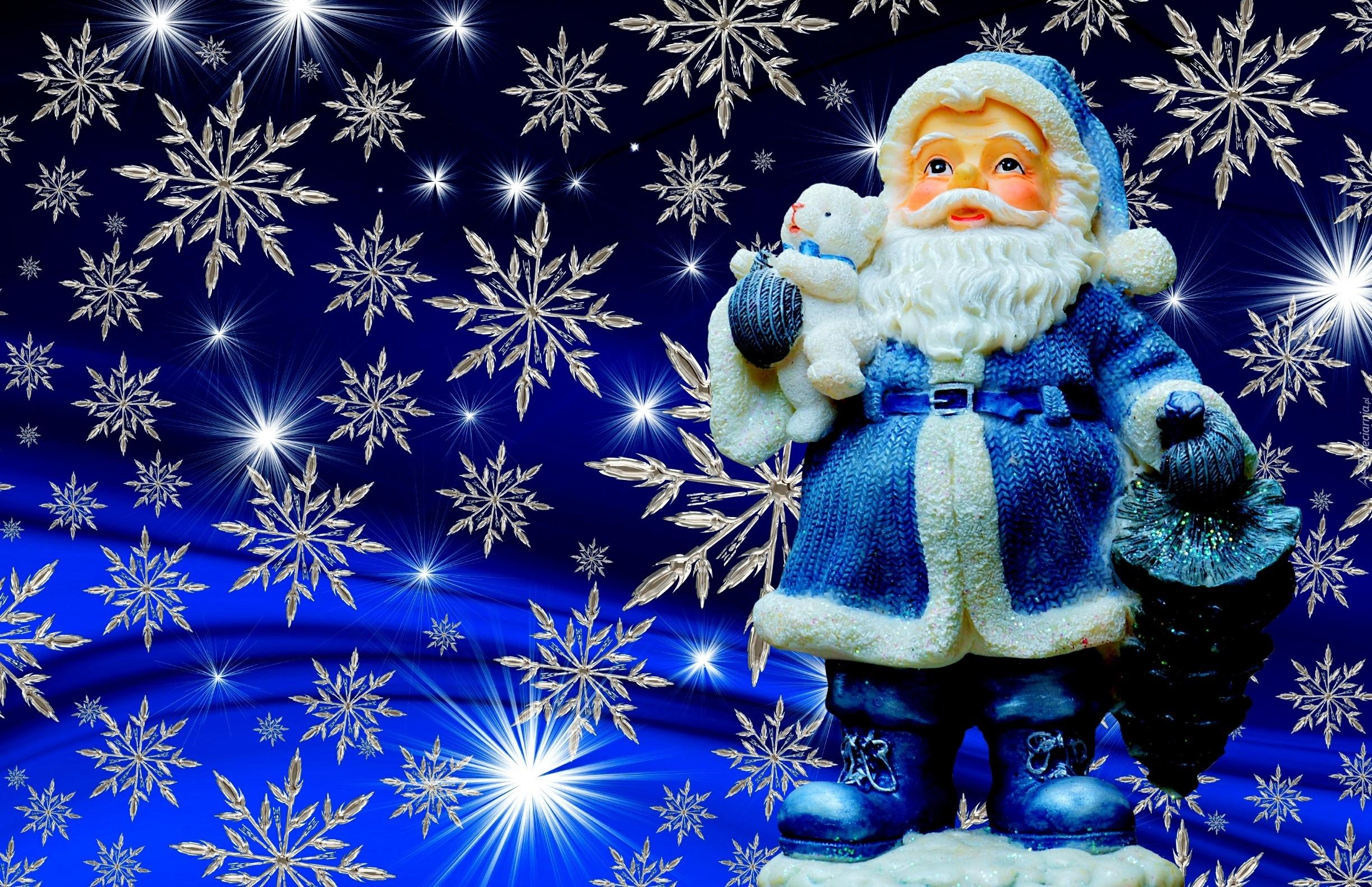 Blue Christmas Tree Forum Avatar: Tapety : Świąteczne