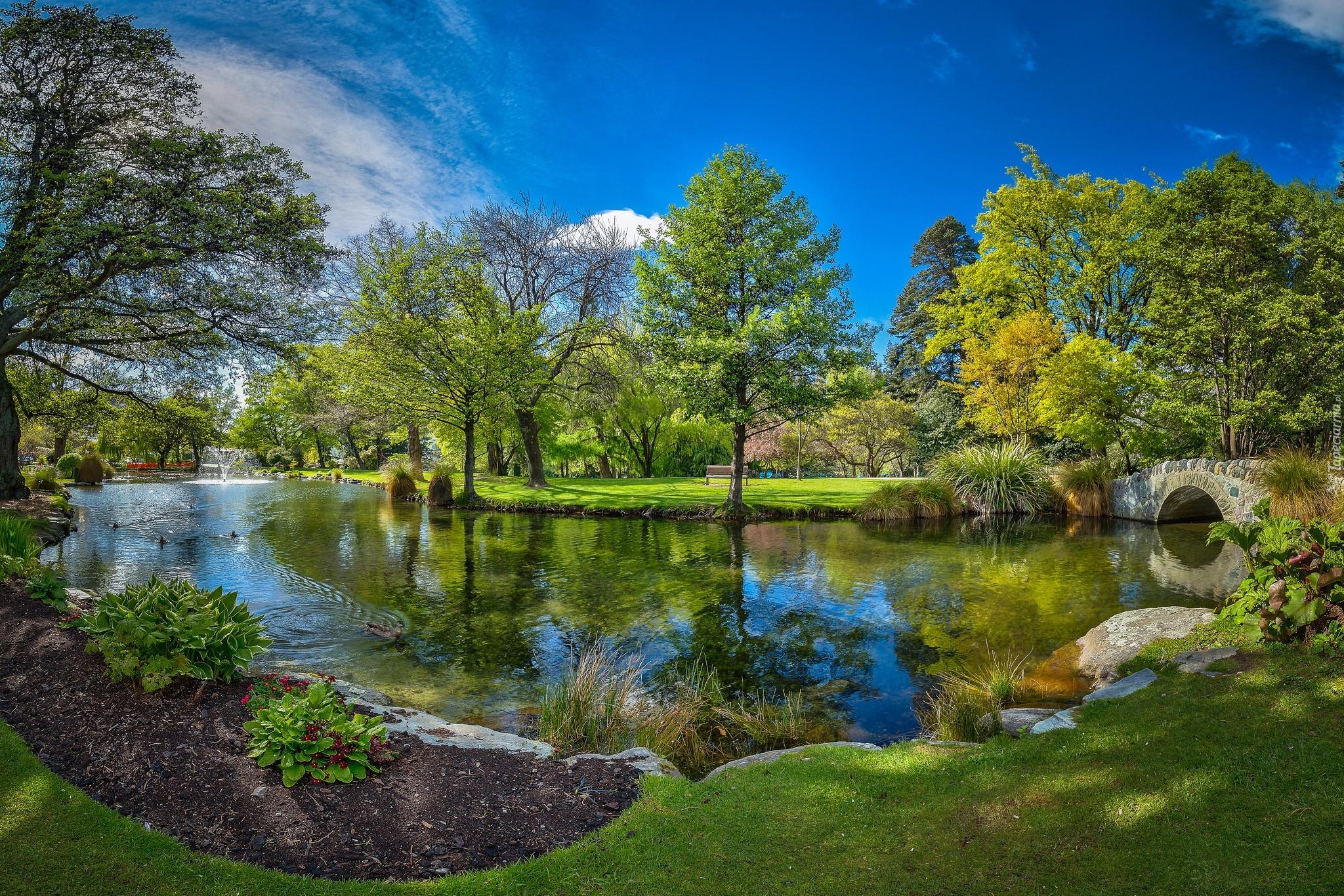 Atak W Nowej Zelandii Hd: Park W Queenstown W Nowej Zelandii
