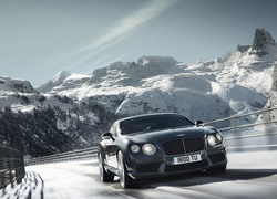 Bentley Continental, Droga, Góry