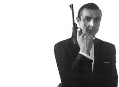 Sean Connery,pistolet