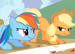 Rainbow dash, Applejack