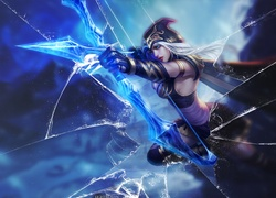 Ashe, League, Of, Legends, P�kni�ty, Ekran
