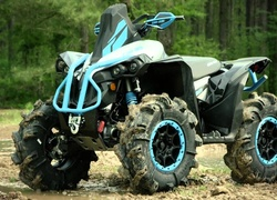 Niebieski, Quad, Can-Am, Renegade 1000 R XMR