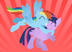 Rainbow Dash, Twilight Sparkle