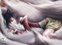 Ahri i ogonki, League Of Legends