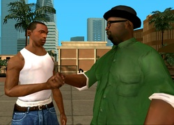 GTA SA, CJ, BS
