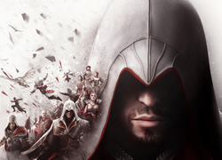 Assassins Creed, Ezio, Maszyna Latająca, Brotherhood