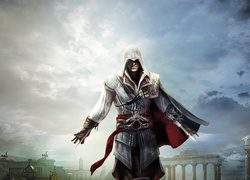 Assassins Creed, Ezio, Ukryte Ostrze, Niebo, Rzym