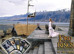 The Lord of The Rings, Miranda Otto, karty, g�ry, schody, budynek