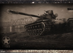 Czołg T110E5 z gry World of Tanks