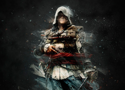Edward Kenway - główny bohater gry Assassins Creed 4: Black Flag