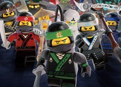 Plakat filmu The LEGO Ninjago: Movie