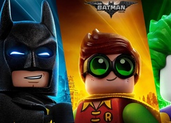 Poster z filmu animowanego The Lego Batman: Movie