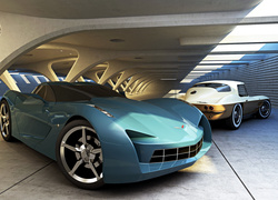 Chevrolet Corvette, Parking
