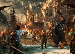 Scena z gry akcji Middle-earth : Shadow of War