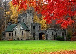 Squires Castle w Willoughby Hills w stanie Ohio